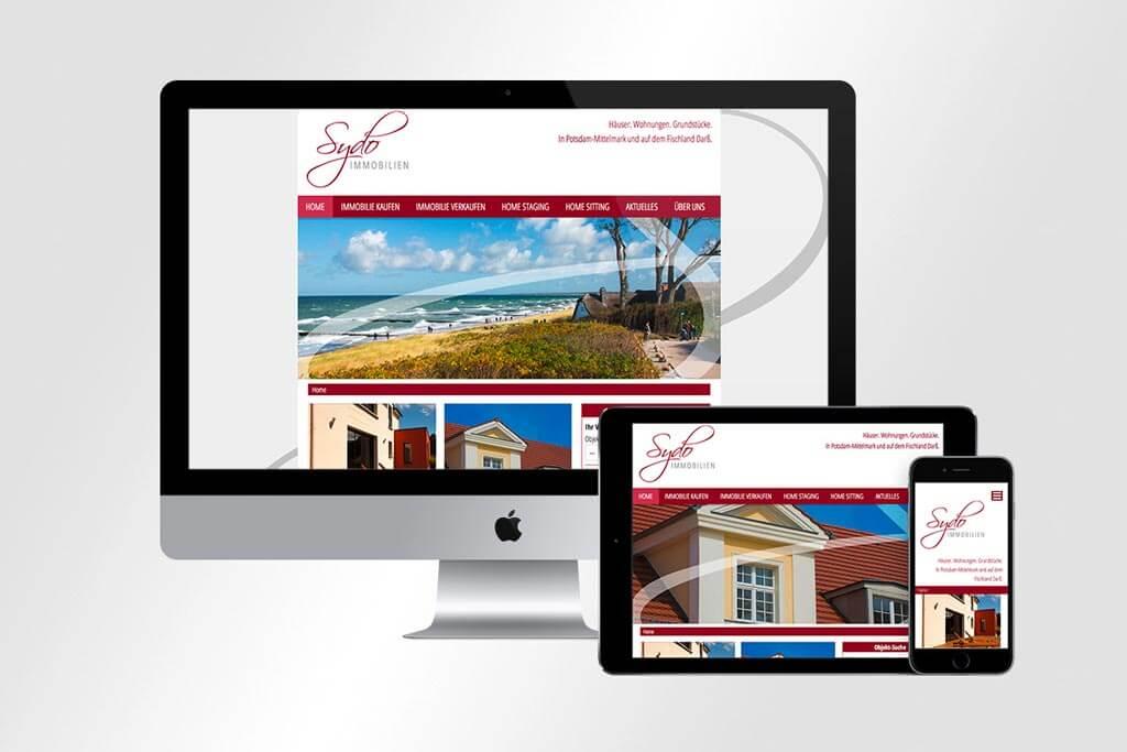 Webdesign Sydo-Immobilien | Mattheis Werbeagentur
