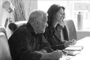 Claudia und Siegbert Mattheis im Gespräch