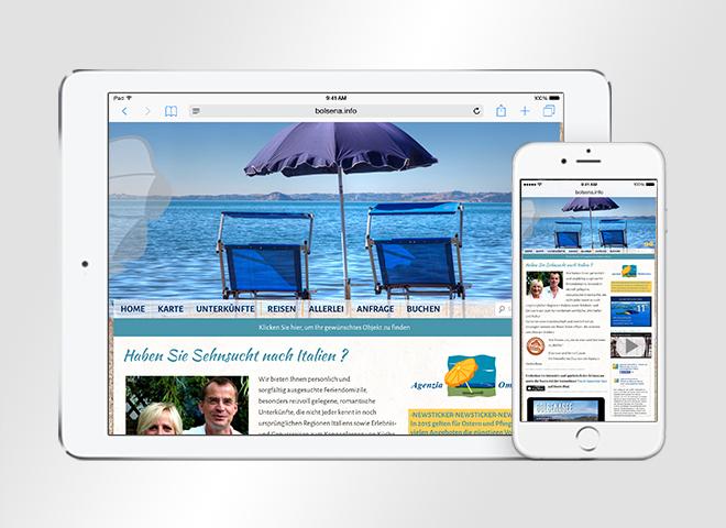 Webdesign Agenzia Ombrellone