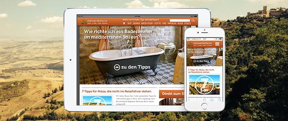 Ambiente Mediterran – Responsive Webdesign