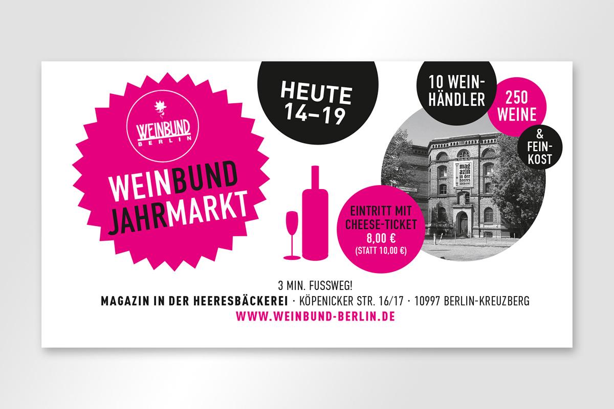Anzeige für Ceese vom Weinbund Jahrmarkt 2014