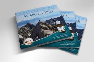 Broschüre San Omega-3 Total Fischöl