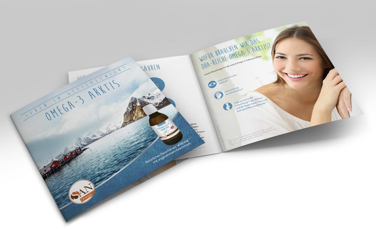 Broschüre Omega-3 Arktis Öl