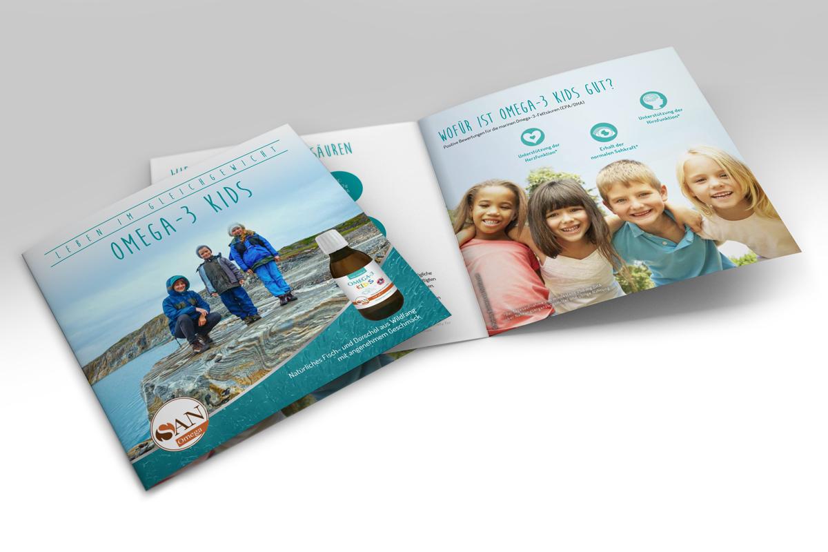Broschüre Omega-3 Kids Öl für Kinder
