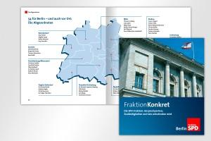 SPD Fraktion Konkret 2014 Wahlen Entscheidungen Parlament Umsetzung Mattheis Werbeagentur Berlin