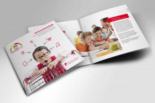 Broschüre Verbraucherschule, Deutsche Stiftung Verbraucherschutz
