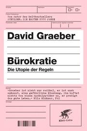 Buchcover Bürokratie Die Utopie der Regeln von David Graeber