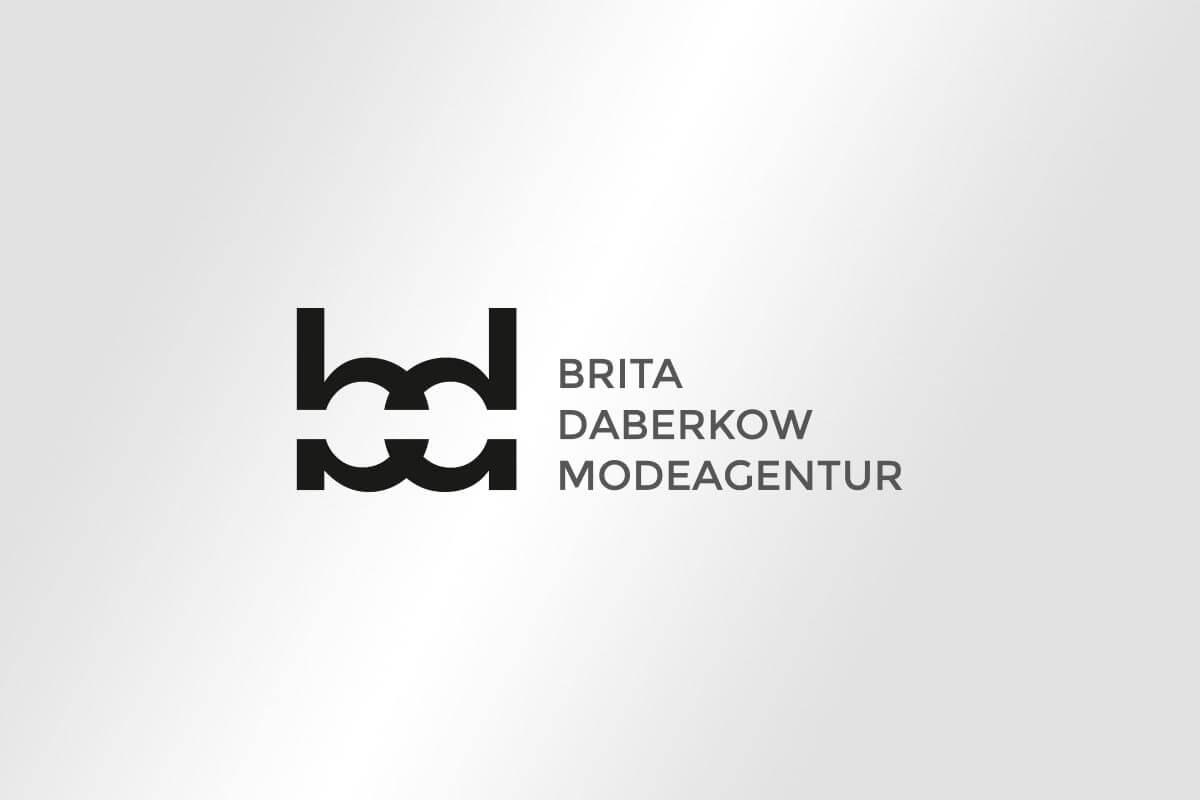 Brita Daberkow Modeagentur – Corporate Design Logo