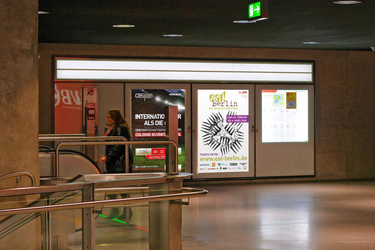 Plakat eat! berlin | mattheis. Werbeagentur