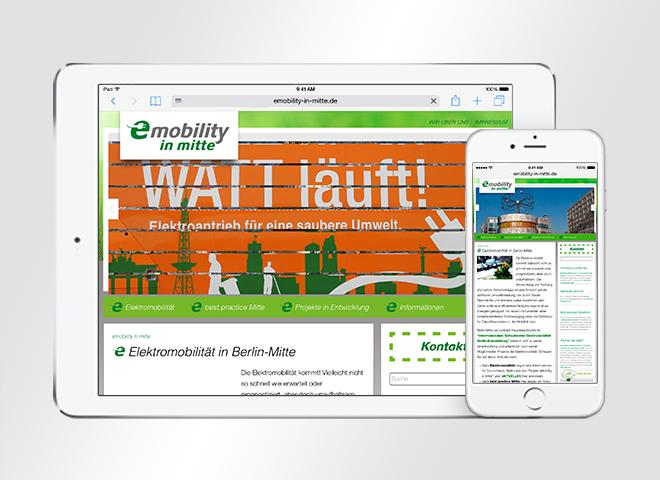 Webdesign eMobility