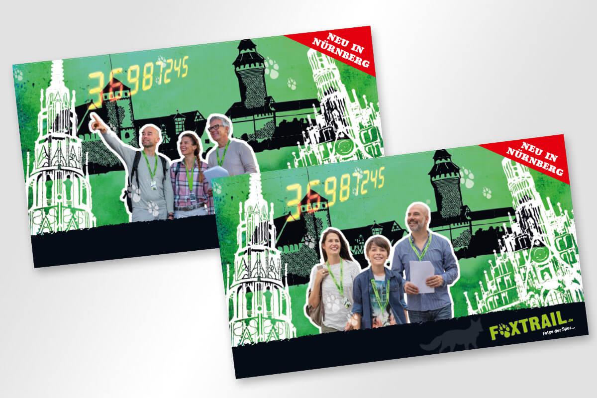 Key Visual Foxtrail Nürnberg | Mattheis Werbeagentur