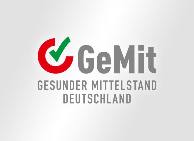 GeMit - Gesunder Mittelstand Deutschland– Logo Gesunder Mittelstand