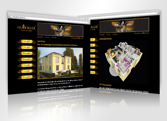Glööckler Haus & Home Website Mattheis Webeagentur Website