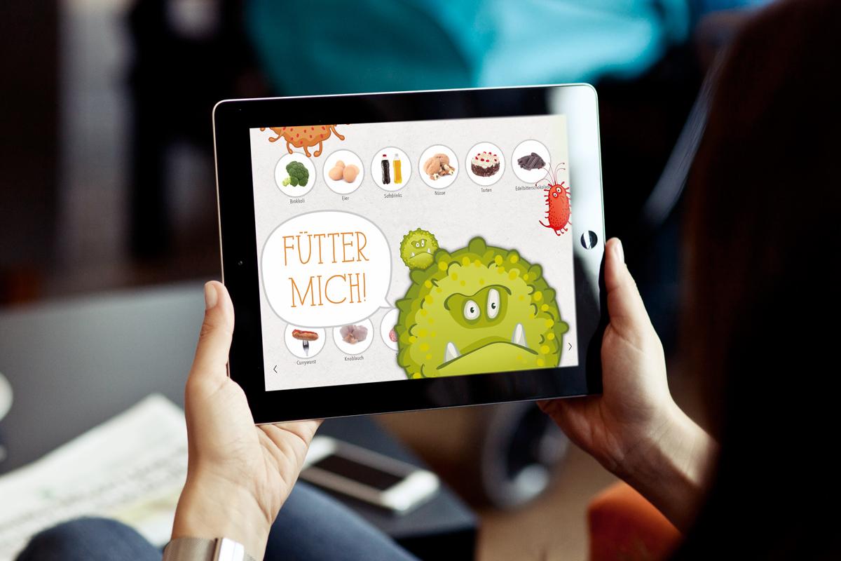 KernGesund Food Revolution Krebsrisiko Monster Spiel