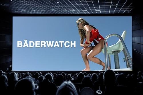 Kino-Spot Berliner Bäder Betriebe Rettungsschwimmer/in
