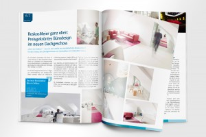 Kundenmagazin Corporate Design Allianz RoskosMeier