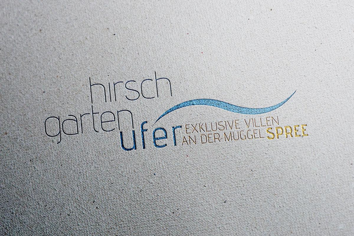 Villenpark Hirschgartenufer Logo, gestaltet von mattheis. werbeagentur gmbh