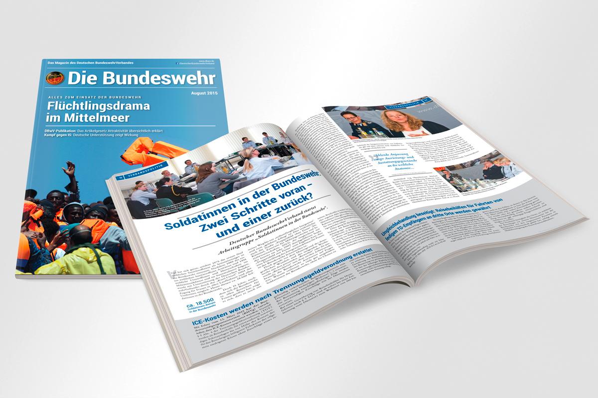Deutscher BundeswehrVerband Mitgliedermagazin