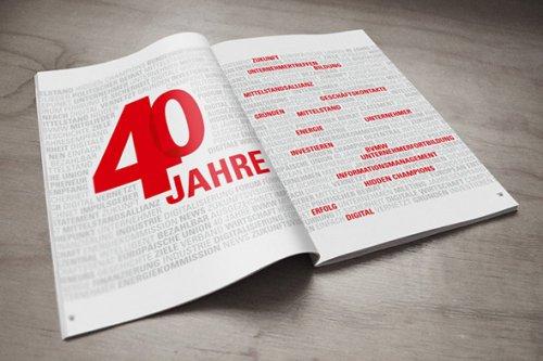 Bundesverband mittelständige Wirtschaft - 40 Jahre BVMW – Buchpublikation zum Jubiläum