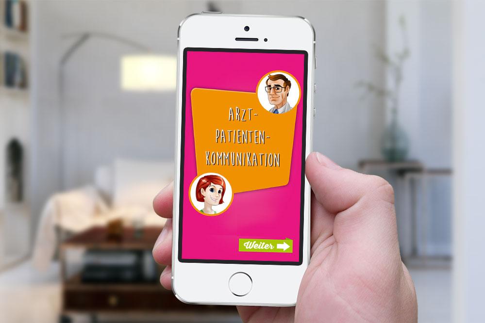 App Mamma Mia! Arzt-Patienten-Kommunikation