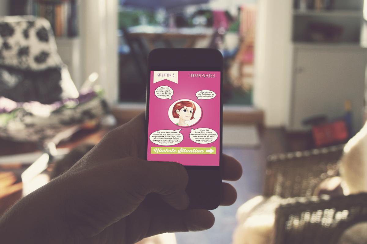 Mama Mia! Appdesign Healthcare – Mamma Mia! Arzt Patienen Kommunikations App für Smartphone