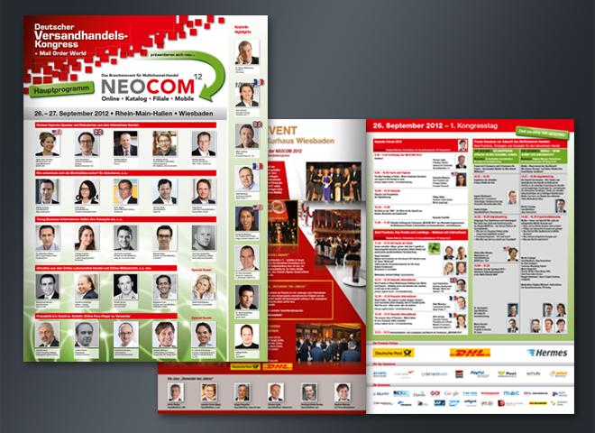 Neocom Programmheft 2012 Mattheis Werbeagentur Deutscher Versandhandelskongress
