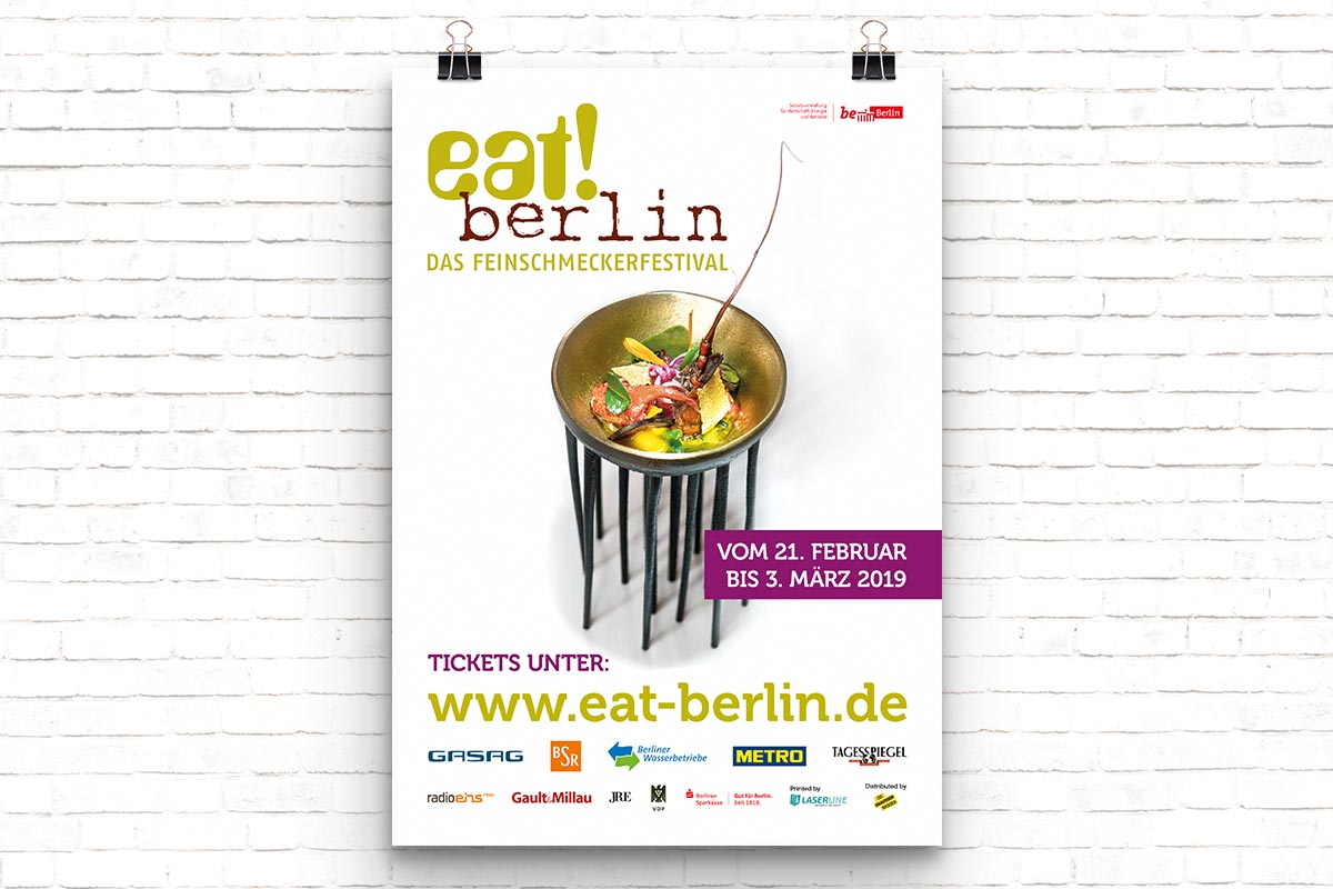 eat! berlin Poster 2019