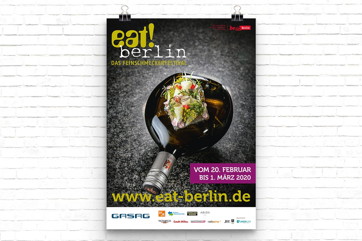 Plakat eat! berlin 2020
