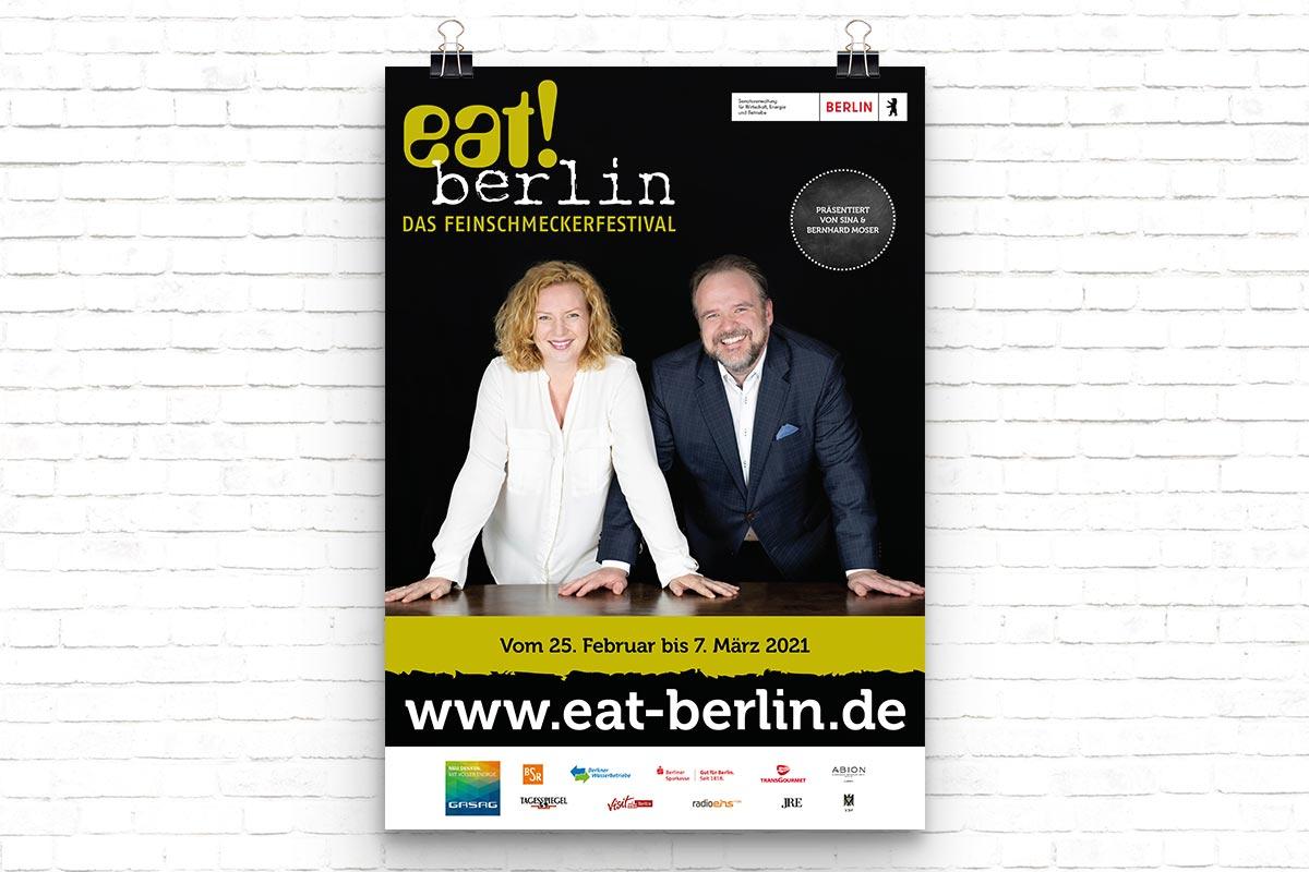 eat! berlin Plakat 2021