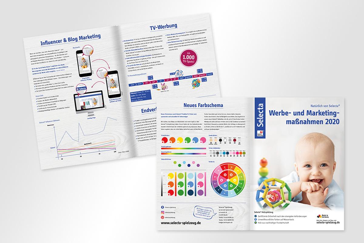 Selecta Sales Folder Werbe- und Marketingmaßnahmen 2020