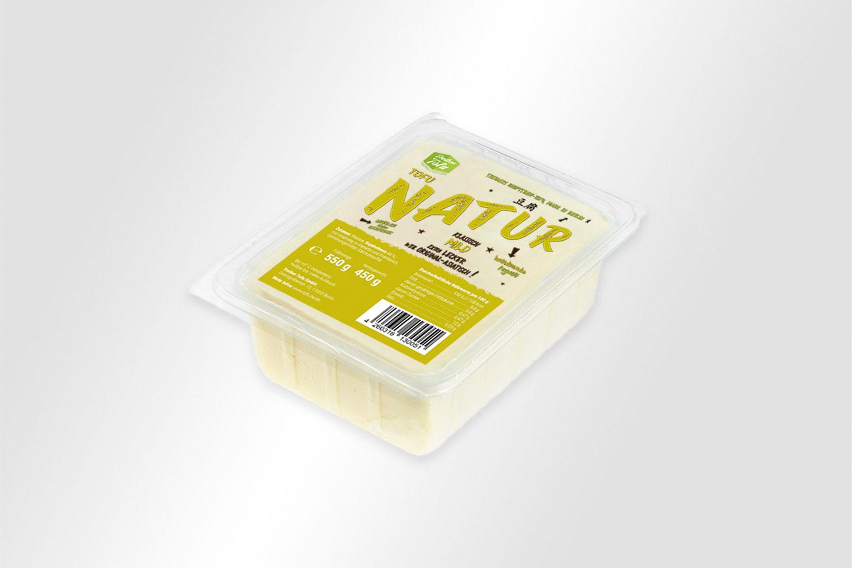 Natur Treiber Tofu Verpackungsdesign
