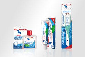 Packaging One Drop Only Zahnpflege