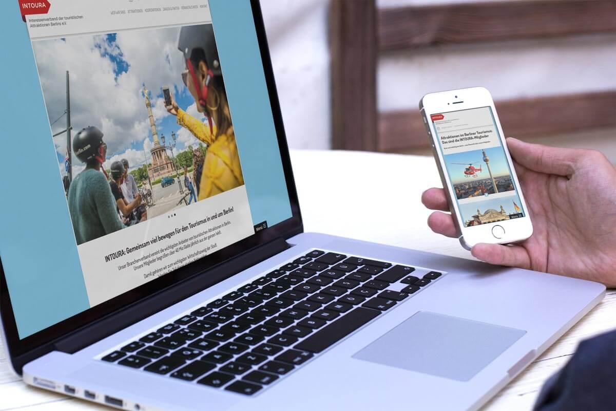 Responsive Webdesign neue Website Weinschule Berlin mattheis