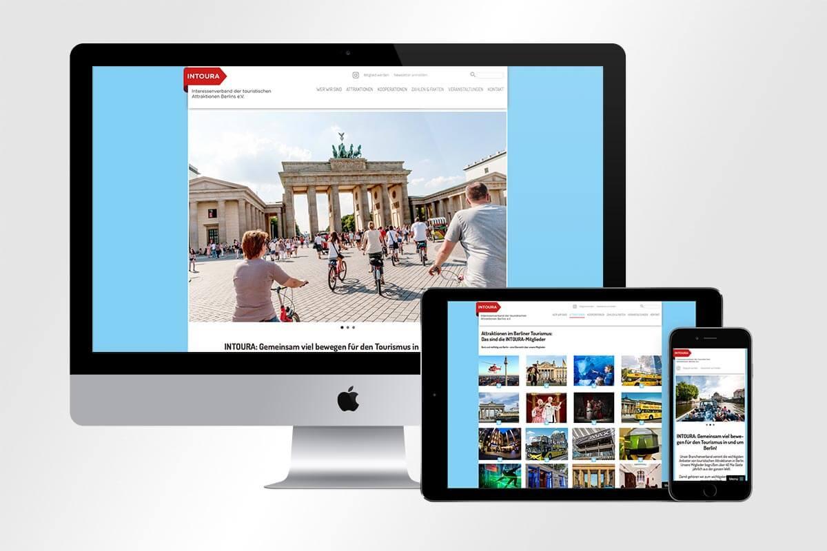 Responsive Webdesign Intoura Berlin mattheis