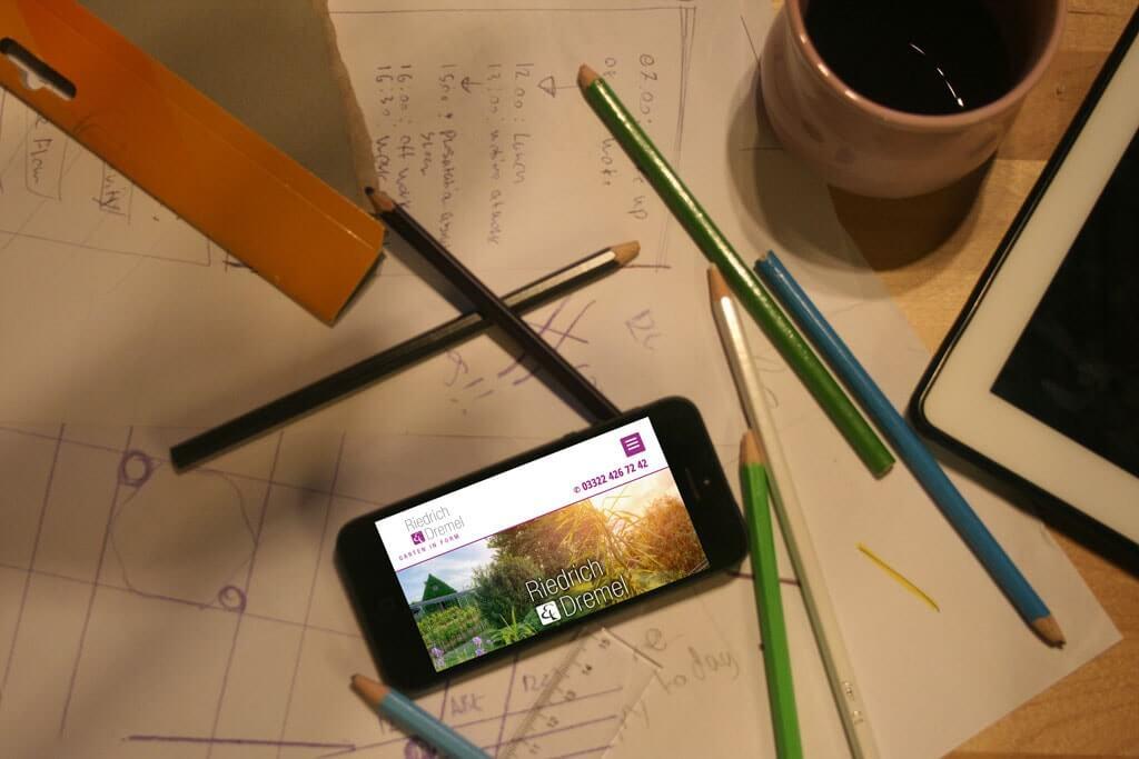Webdesign Riedrich und Dremel