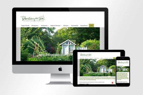 Webdesign mein-schrebergarten.de | Mattheis Werbeagentur