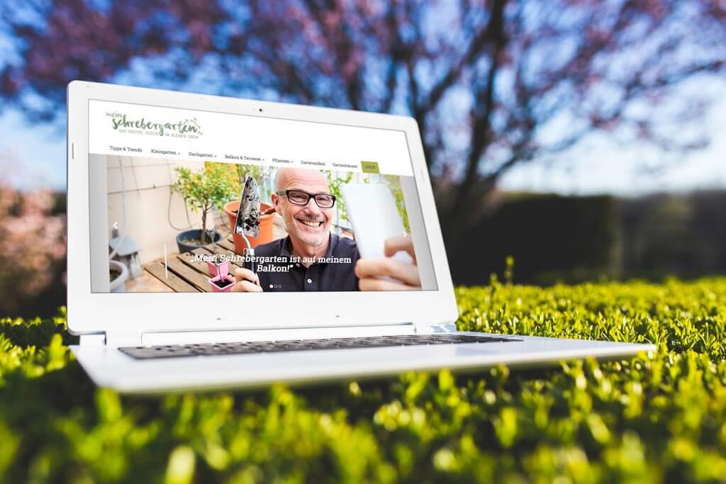Mein Schrebergarten – Webdesign mein-schbrebergarten.de | mattheis. Werbeagentur