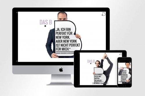 Responsive Webdesign für DAS B | mattheis. Werbeagentur